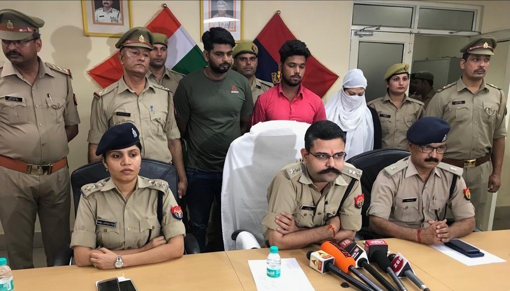 पुलिस ने बीस दिन में हत्या की साजिश रचने वाले आरोपियों को पकड़ा