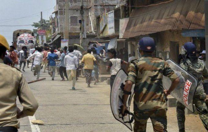 जयपुर में सांप्रदायिक बवाल, 9 पुलिसकर्मियों समेत 24 घायल, कई इलाकों में धारा 144 लागू- इंटरनेट सेवाएं बंद