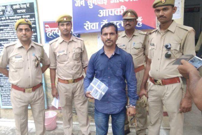 पुलिस के हत्थे चढ़ा इनामी शूटर ब्रजेश सोनकर, 50 हजार रुपये का था इनाम