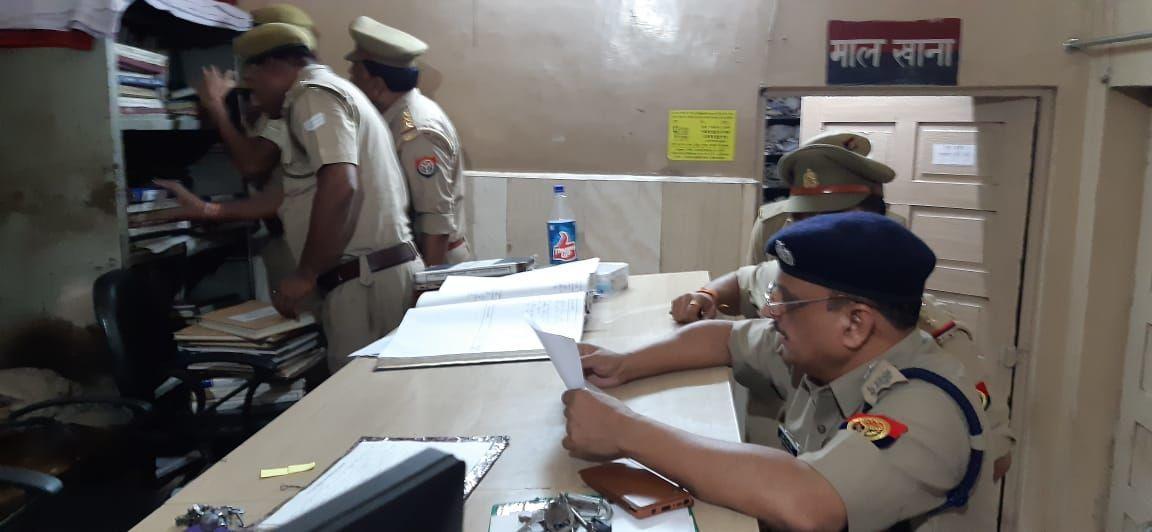 एसएसपी सुधीर कुमार ने किया कोतवाली नगर और आरटीआई सेल का औचक निरीक्षण