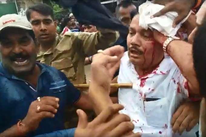 बीजेपी ने पश्चिम बंगाल के बैरकपुर में बुलाया 12 घंटे का बंद