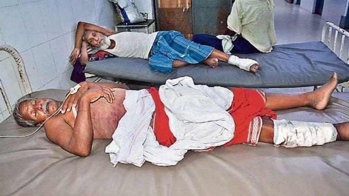 बिहार के गया में अस्पताल में आया अजीबोगरीब मामला सामने, करना था हाइड्रोसिल का ऑपरेशन लेकिन कर दिया दाएं पैर का
