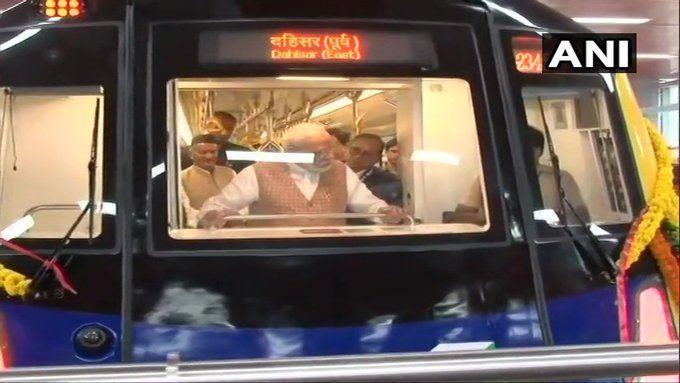 पीएम मोदी ने मुंबई में रखी मेट्रो लाइन की आधारशिला, ये होगा मेट्रो रुट