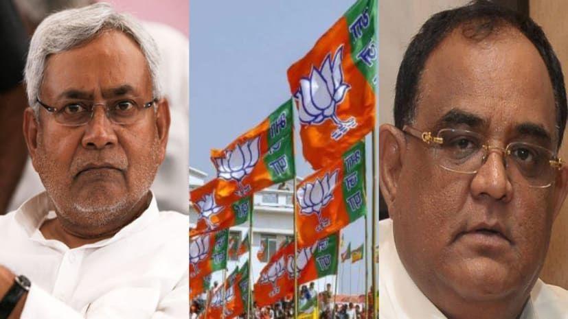 बिहार बीजेपी के MLC ने सबसे पहले नीतीश के नेतृत्व पर उठाया सवाल तो मचा बिहार में ववाल
