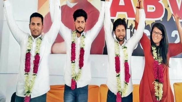 दिल्ली यूनिवर्सिटी छात्र संघ चुनाव में ABVP ने लहराया अपना परचम, चुनाव परिणाम हुआ घोषित