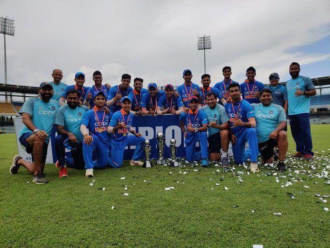 अंडर-19 एशिया कप: बांग्लादेश को हराकर सातवीं बार विजेता बना भारत,जीत के हिरो रहे अंकोलेकर की कहानी आपको कर देगी भावुक