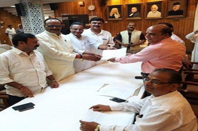 बीजेपी प्रत्याशी संजय सेठ और सुरेंद्र नागर राज्यसभा के लिए निर्विरोध निर्वाचित