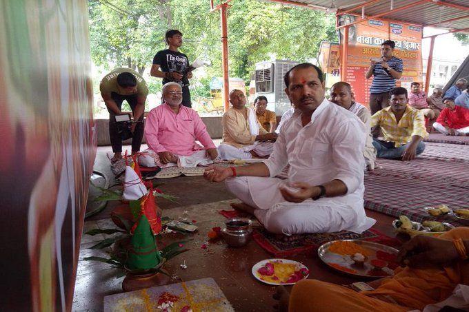 रायबरेली में कांग्रेस MLA ने किया PM मोदी की दीर्घायु के लिए सूर्य यज्ञ