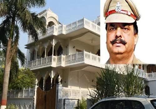 करोड़पति डीएसपी : 83 लाख मिली सैलरी, दस करोड़ से अधिक का बना लिया घर