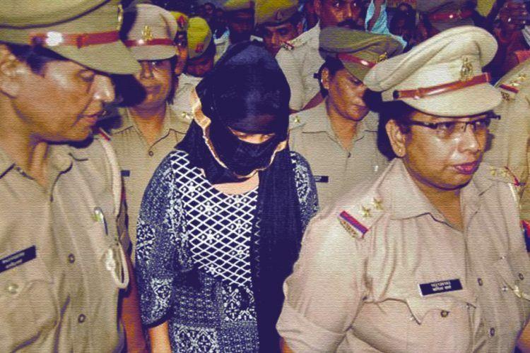 रंगदारी मांगने की आरोपी छात्रा को 14 दिन की न्यायिक हिरासत में भेजा