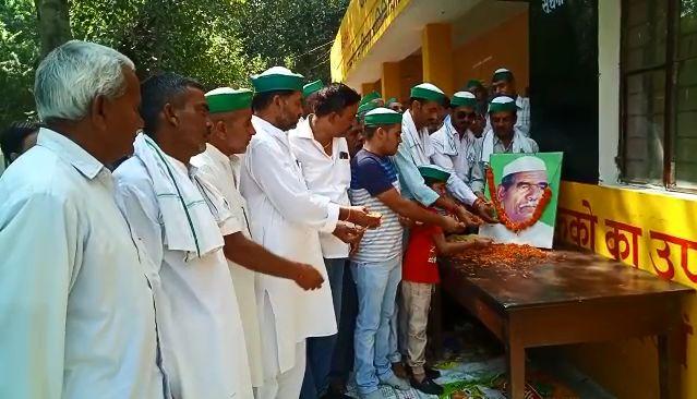 किसानों के मसीहा चौधरी महेंद्र सिंह टिकैत का 84 वां जन्मदिन आज