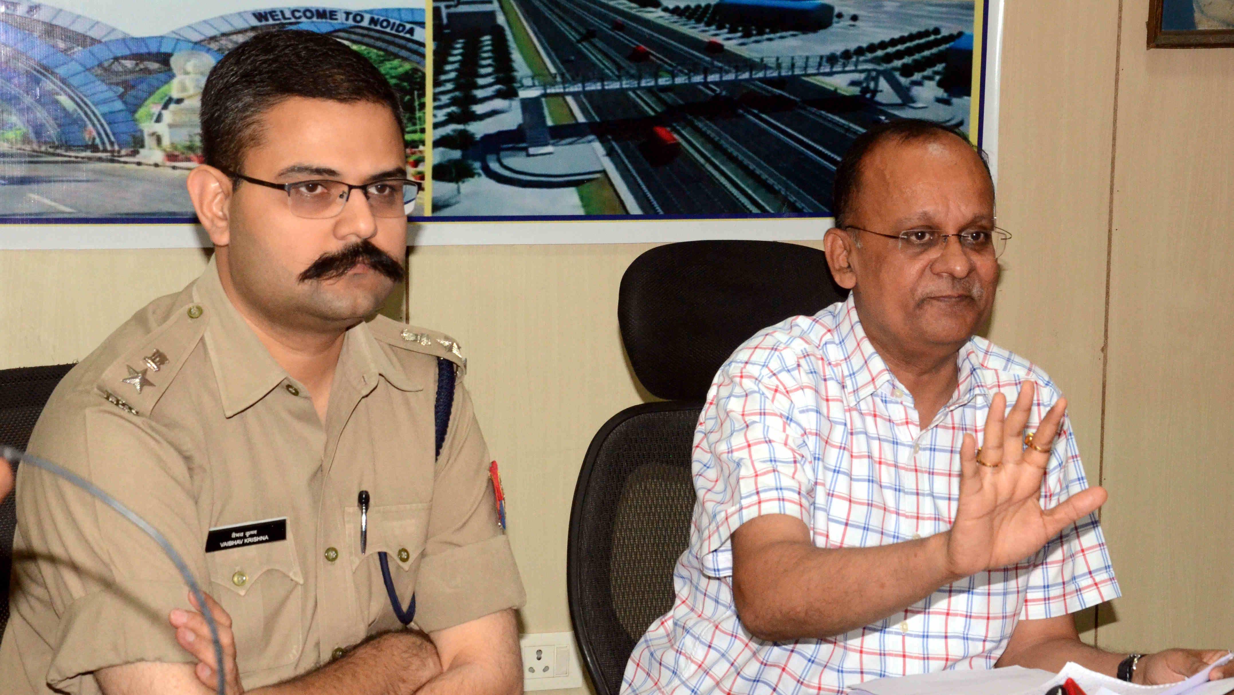 नोएडा के शाहबेरी प्रकरण में जिला अधिकारी एसएसपी ने की बड़ी कार्रवाई, बिल्डरों में मचा हडकम्प