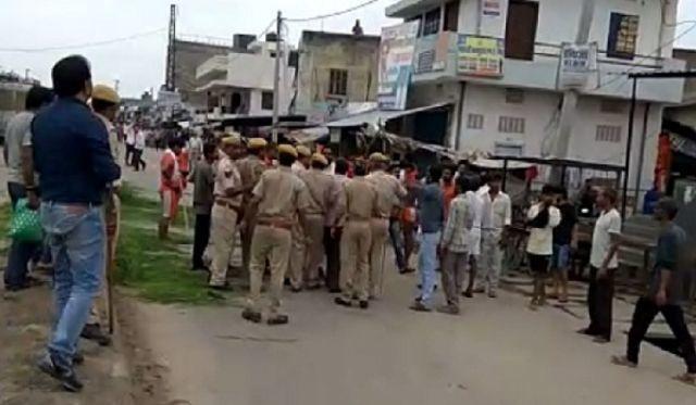 राजस्थान के टोंक जनपद में साम्प्रदायिक तनाव के बाद कर्फ्यू
