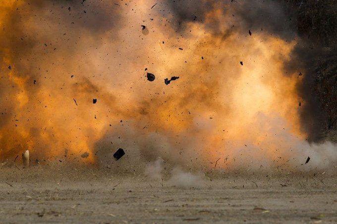 यूपी में भीषण हादसाः पटाखा कारोबारी के घर धमाका, एक की मौत, 5 घायल