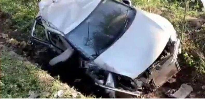 टिहरी गढ़वाल में सड़क हादसा, कार में सवार पांच की मौत
