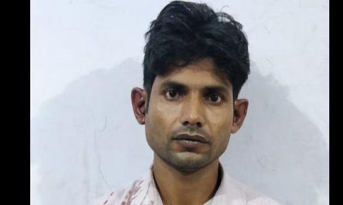 यूपी एसटीएफ की बड़ी कामयाबी, 50,000/-का इनामी अपराधी शराब तस्कर चेतराम मथुरा से किया गिरफ्तार