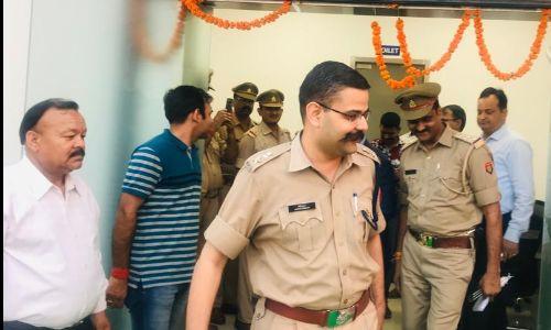 एसएसपी वैभव कृष्ण ने किया सेमसंग पुलिस चौकी सेक्टर 81 का उद्घाटन