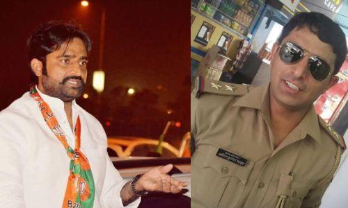 बीजेपी नेता शिवकुमार हत्या कांड में आरोपी दरोगा अमित कुमार यादव ने किया सरेंडर