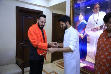 सलमान खान के बॉडीगार्ड शेरा ने थामा शिवसेना का हाथ