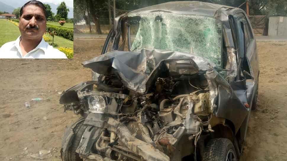 केंद्रीय मंत्री संतोष गंगवार के निजी सचिव की कार दुर्घटना में मौत