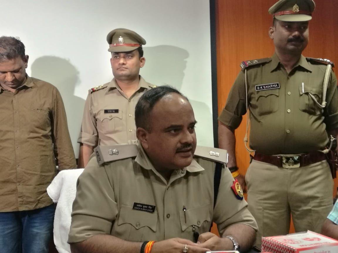 एसपी सिटी अशोक कुमार ने किया खुलासा, शातिर चोरों के गिरोह को पकड़ा