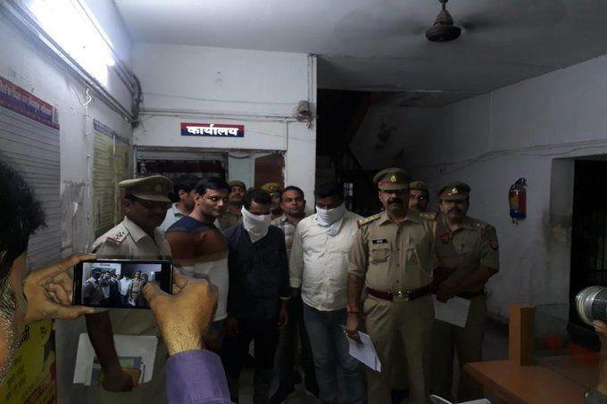 कमलेश तिवारी के हत्यारोपी असफाक ओऱ मोईनुद्दीन गुजरात-राजस्थान बॉर्डर से गिरफ्तार, पाक भागने की कर रहे थे कोशिश