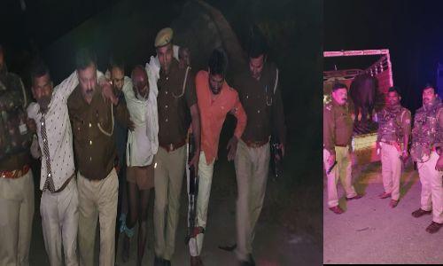 नोएडा पुलिस की बदमाशों से मुठभेड़, आमने सामने की फायरिंग में तीन हुए घायल