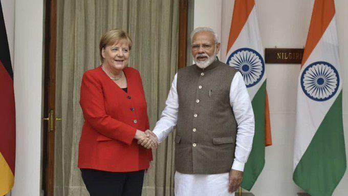 भारत-जर्मनी में 11 क्षेत्रों में करार, मोदी बोले- आतंकवाद से लड़ाई में सहयोग को मजबूती देंगे