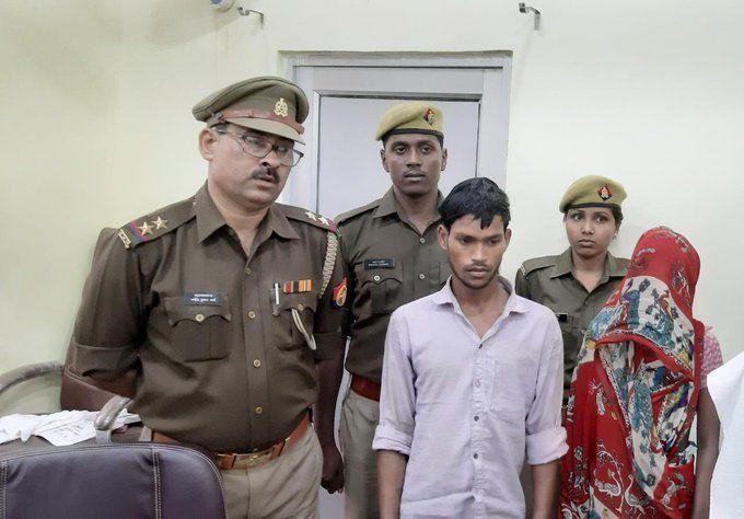 बाराबंकी पुलिस ने किया खुलासा, बहु बेटे ने मिलकर माँ मार डाली