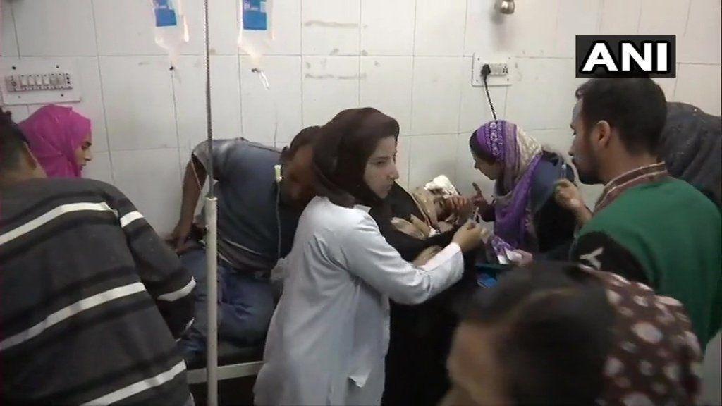 श्रीनगर में ग्रेनेड से किया गया हमला, 10 लोगों के घायल होने की खबर