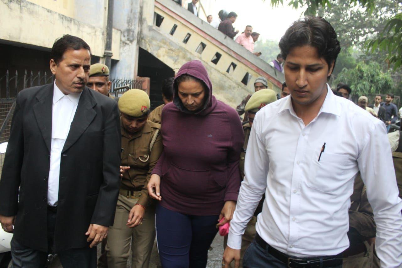इंस्पेक्टर लक्ष्मी चौहान को 14 दिन की हिरासत में भेजा जेल