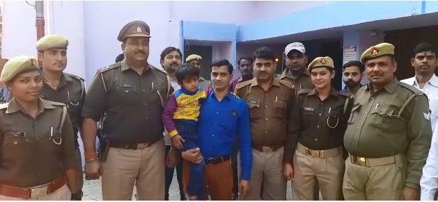 आज के माहौल में कासगंज पुलिस ने रचा इतिहास, फर्रुखाबाद से अपह्रत मासूम बच्चे को सकुशल किया बरामद, दो आरोपी गिरफ्तार