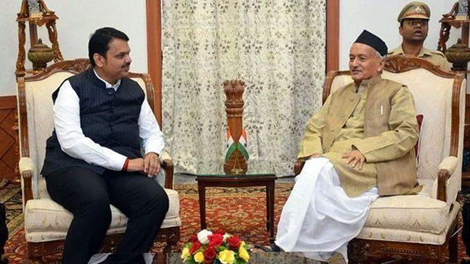 महाराष्ट्र के राज्यपाल भगत सिंह कोश्यारी ने BJP को सरकार बनाने का भेजा न्योता, उधर एनसीपी ने कही बड़ी बात