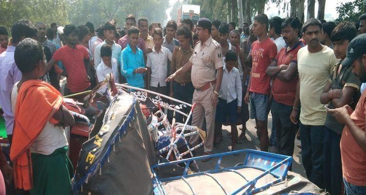 बिहार के नालंदा में सड़क हादसे में 6 की मौत, 4 की हालत गंभीर