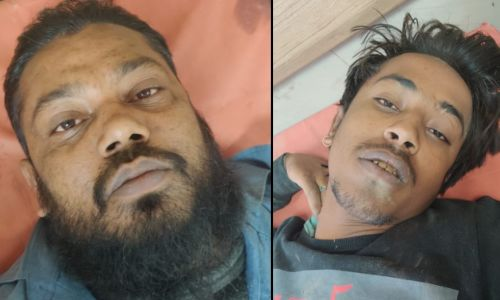 गोकशी करने वाले दो बदमाशों को नोएडा पुलिस ने मुठभेड़ के दौरान पकड़ा,पशु काटने के उपकरण बरामद