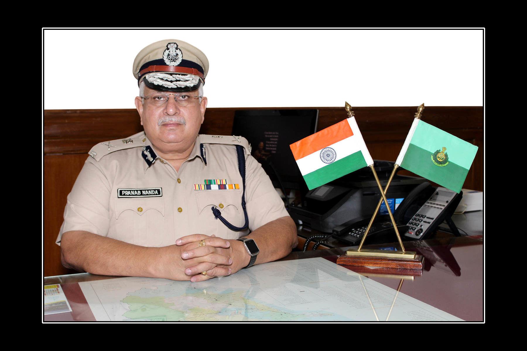 गोवा के पुलिस महानिदेशक (DGP) प्रणब नंदा का दिल्ली में निधन