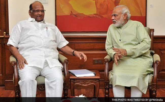 महाराष्ट्र में सरकार पर जारी उथल पुथल के बीच PM मोदी ने की शरद पवार की पार्टी NCP की तारीफ