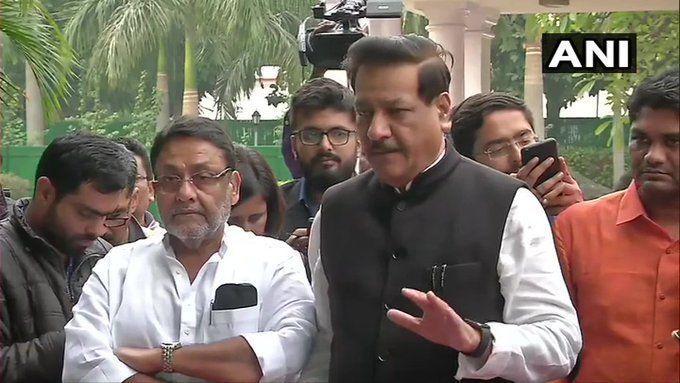 पृथ्वीराज चव्हाण ने कही बड़ी बात और महाराष्ट्र में सरकार गठन का रास्ता