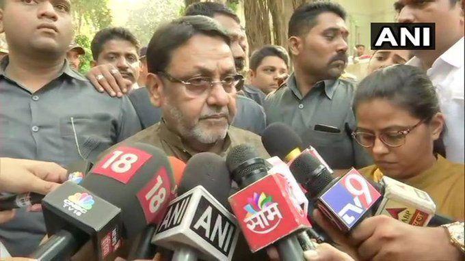 एनसीपी प्रवक्ता नवाव मलिक ने किया खुलासा, कैसे दिया अजीत पवार ने धोखा और किस वजह से बनबा दी बीजेपी सरकार!
