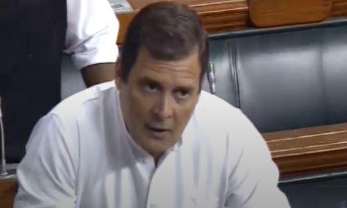 महाराष्ट्र मामले पर संसद में हंगामा, राहुल गांधी बोले- लोकतंत्र की हत्या हुई