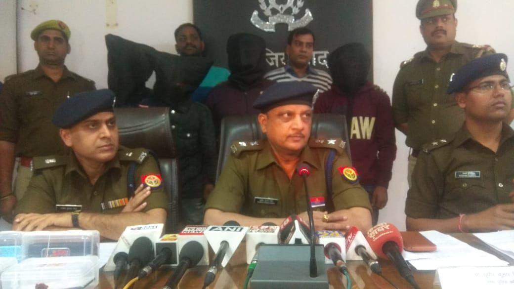 दिल्ली एनसीआर में लूटपाट करने वाले गैंग को गाजियाबाद पुलिस ने किया गिरफ्तार,  4 शातिर लुटेरों से 41 एंड्राइड मोबाइल फोन