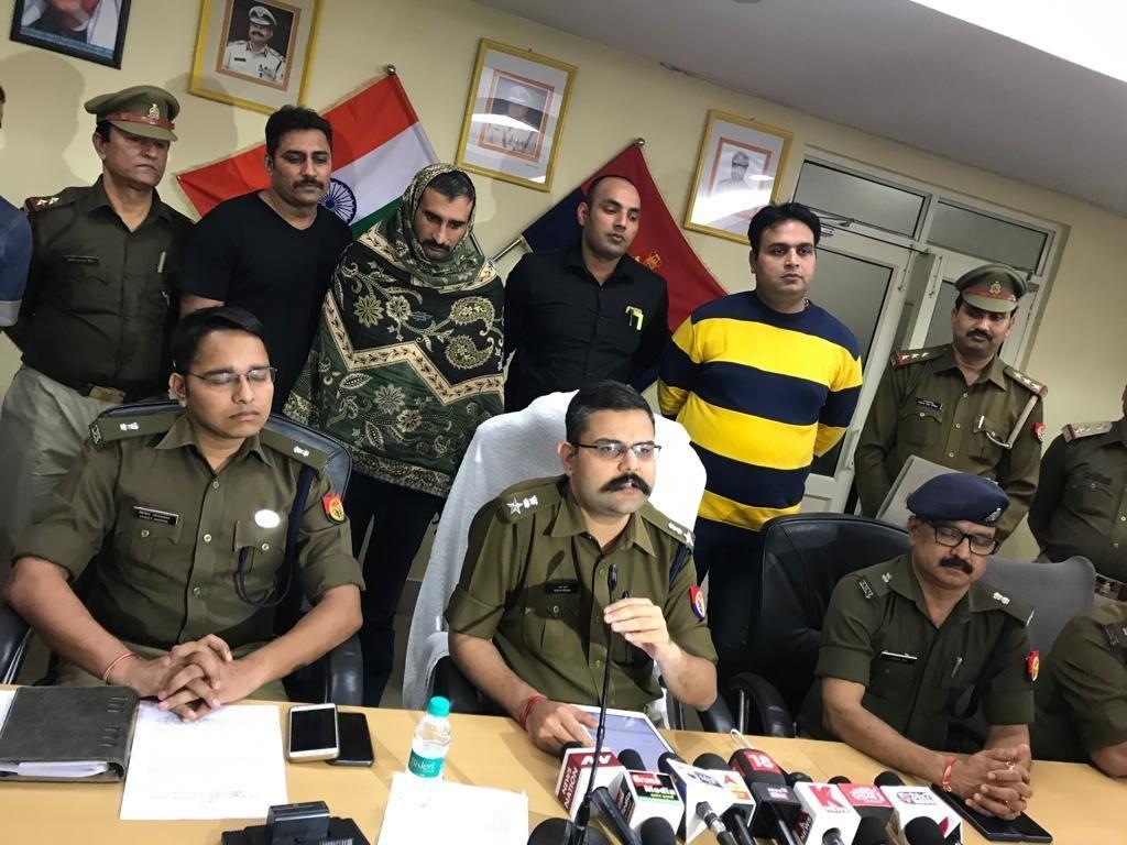 एसएसपी वैभव कृष्ण की सूझबूझ से होमगार्ड घोटाले की मस्टरोल में आग लगाने वाला आरोपी गिरफ्तार