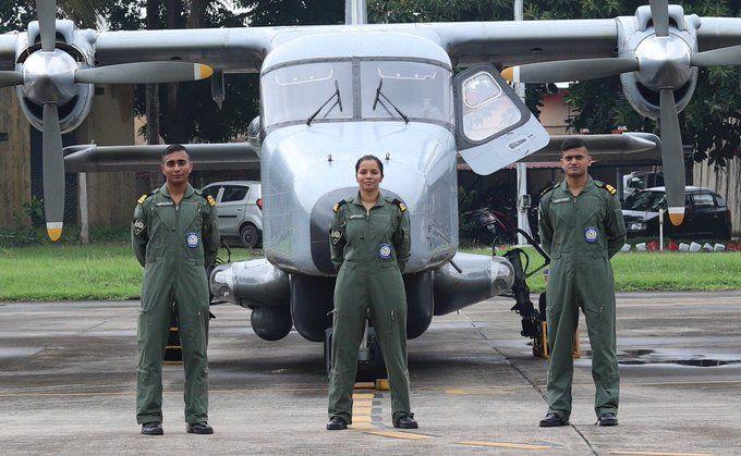भारतीय नौसेना में शामिल होने वाली पहली महिला पायलट बनी बिहार की ये बेटी, उड़ाएंगी