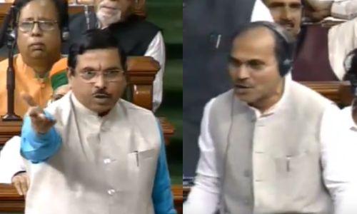 BJP का पलटवार, अब लोकसभा में मोदी के मंत्री ने सोनिया को कहा
