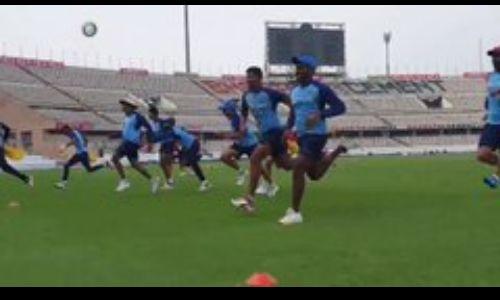भारत और वेस्टइंडीज के बीच टी20 सीरीज का पहला मैच कल,रुमाल के साथ इस तरह कराया Warmup
