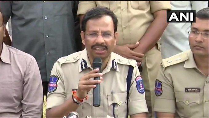 सरेंडर को तैयार नहीं थे आरोपी, जवाबी फायरिंग में हुए ढेर: तेलंगाना पुलिस