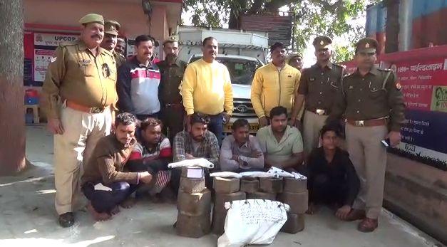 शामली पुलिस की बड़ी कार्रवाई, अंतरराज्य चोर गैंग के छह आरोपी मुठभेड़ में गिरफ्तार