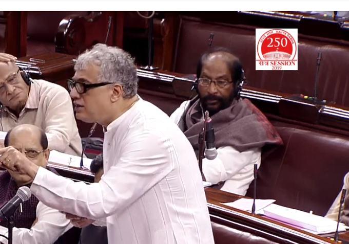 नागरिता संसोधन बिल पर टीएमसी सांसद डेरेक ओ ब्रायन ने कहा- ये बिल भारत विरोधी, बंगाल विरोधी है, एनआरसी को लेकर कही कही बड़ी बात