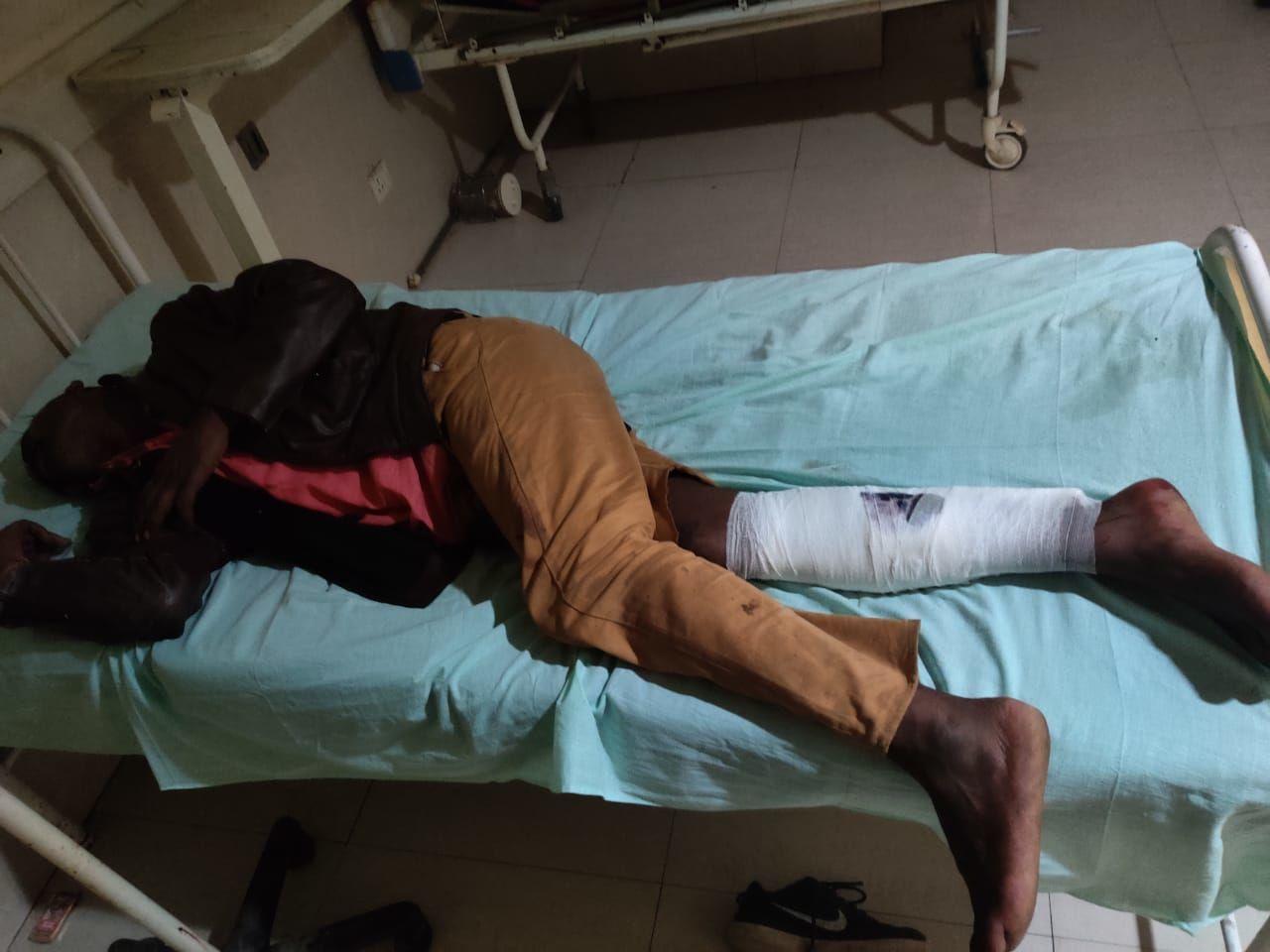 नोएडा: पुलिस मुठभेड़ के दौरान एक लुटेरा गिरफ्तार