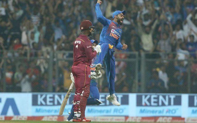 विराट ने 29 गेंदों पर ठोके 70 रन, टीम इंडिया ने ऐसे उड़ाए वेस्टइंडीज के होश